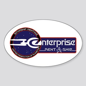 Enterprise Rent-A-Ship Sticker (Oval)