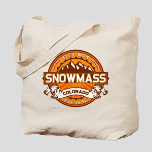 Snowmass Tangerine Tote Bag