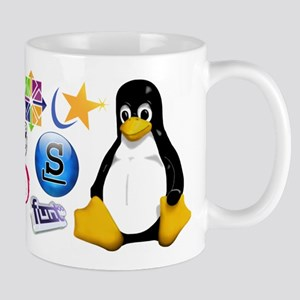 Tasse Mug Linux Tux Many Distro Mugs