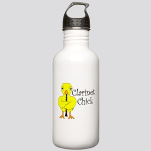 Clarinet Chick Text Stainless Water Bottle 1.0L