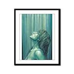 Pray Standing (Cropped) Framed Panel Print