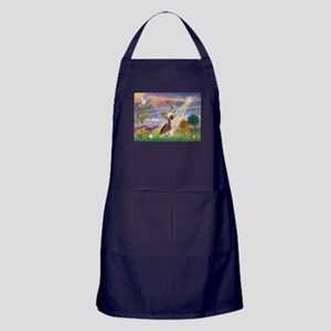 Cloud Angel/Chinese Crested Apron (dark)