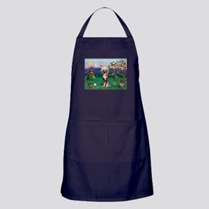 Pagoda/Chinese Crested Apron (dark)