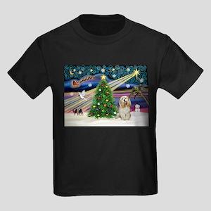 XmasMagic/Buff Cocker Kids Dark T-Shirt