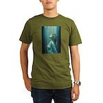 Pray Standing Organic Men's T-Shirt (dark)