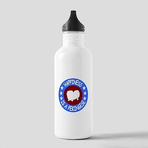 Pekingese Stainless Water Bottle 1.0L