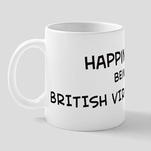 Happiness is British Virgin I Mug