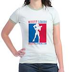 Missfit League Jr. Ringer T-Shirt