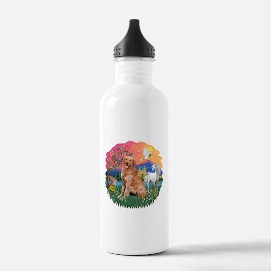 Golden (B3) Fantasy Water Bottle