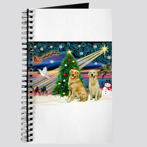 Xmas Magic & Golden pair Journal