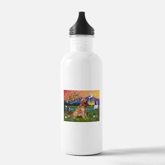 Fantasy Land Golden Water Bottle