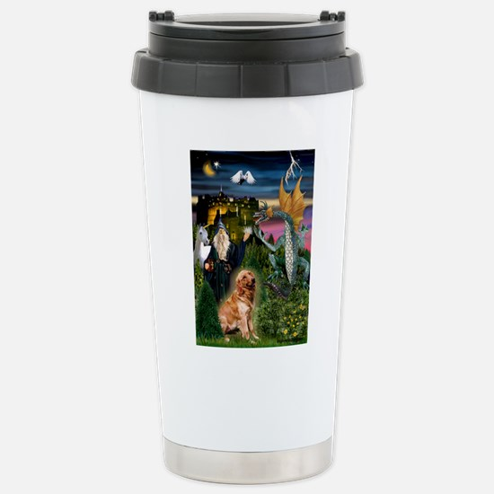 The Magical Golden Stainless Steel Travel Mug