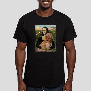 Mona's Golden Men's Fitted T-Shirt (dark)