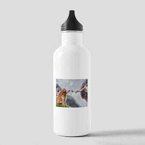 Creation of Golden Retreiver Stainless Water Bottl