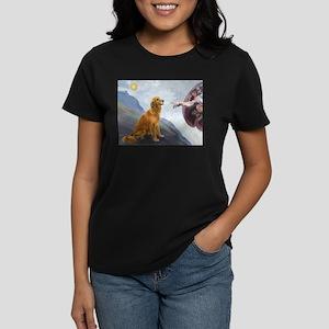 Creation (#2) & Golden Women's Dark T-Shirt