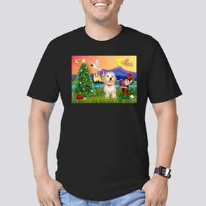 XmasFantasy / Havanese Men's Fitted T-Shirt (dark)