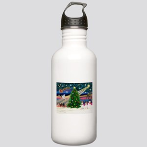 Xmas Magic & JRT pair Stainless Water Bottle 1.0L
