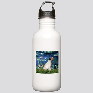 Jack Russell & Lilies Stainless Water Bottle 1.0L
