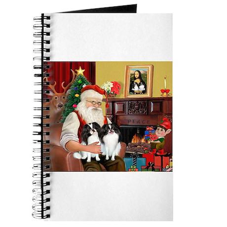 Santa's 2 Japanese Chins Journal