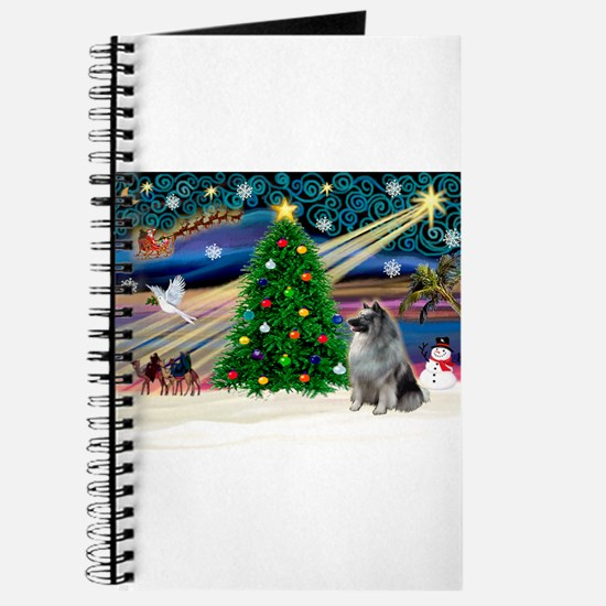 Xmas Magic & Keeshond Journal
