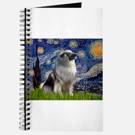 Starry Night & Keeshond Journal