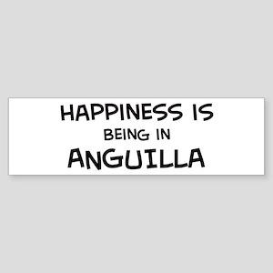 Happiness is Anguilla Bumper Sticker