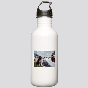Creation/Black Lab Stainless Water Bottle 1.0L