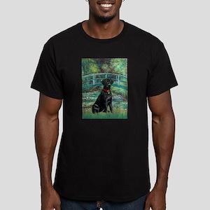 Bridge & Black Lab Men's Fitted T-Shirt (dark)