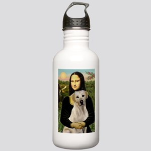 Mona & her Yellow Lab Stainless Water Bottle 1.0L