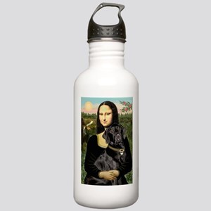 Mona's Black Lab Stainless Water Bottle 1.0L