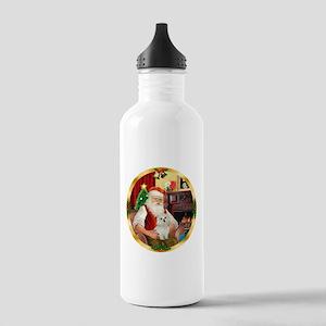 Santa's Maltese 11 Stainless Water Bottle 1.0L