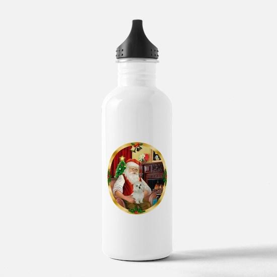 Santa's Maltese 11 Water Bottle