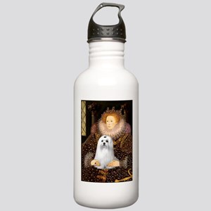 Queen & Her Maltese Stainless Water Bottle 1.0L