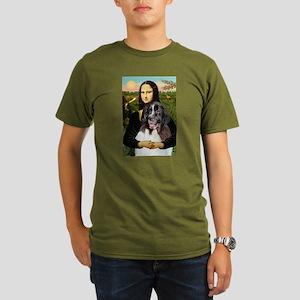 Mona Lisa's Landseer Organic Men's T-Shirt (dark)
