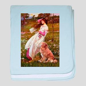 Wind Flowers & Nova Scotia... baby blanket