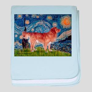 Starry Night Nova Scotia baby blanket