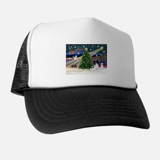 Xmas Magic/Papillon (#1) Trucker Hat