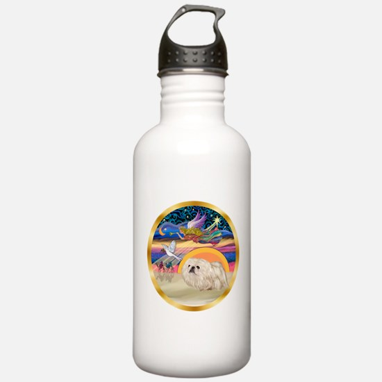 XmasStar/Pekingese (w) Water Bottle