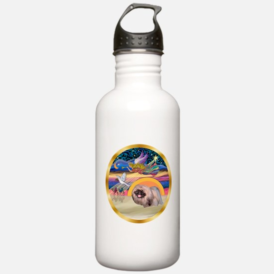 XmasStar/Pekingese #10 Water Bottle