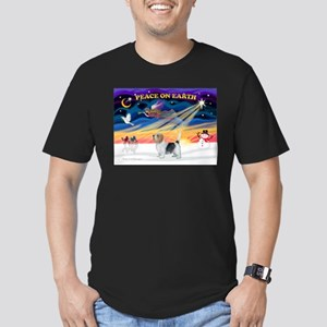XmasSunrise/PBGB #10 Men's Fitted T-Shirt (dark)