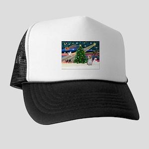 Xmas Magic/PBGV (#3) Trucker Hat