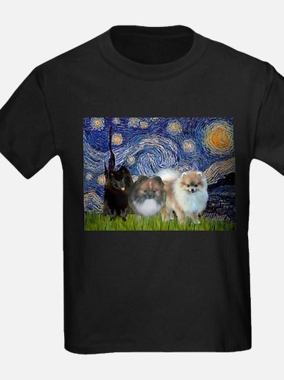 Starry/3 Pomeranians T