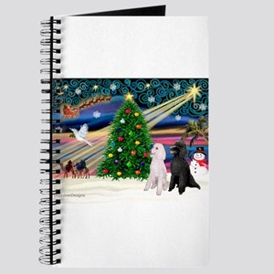 XmasMagic/2 Poodles (st) Journal