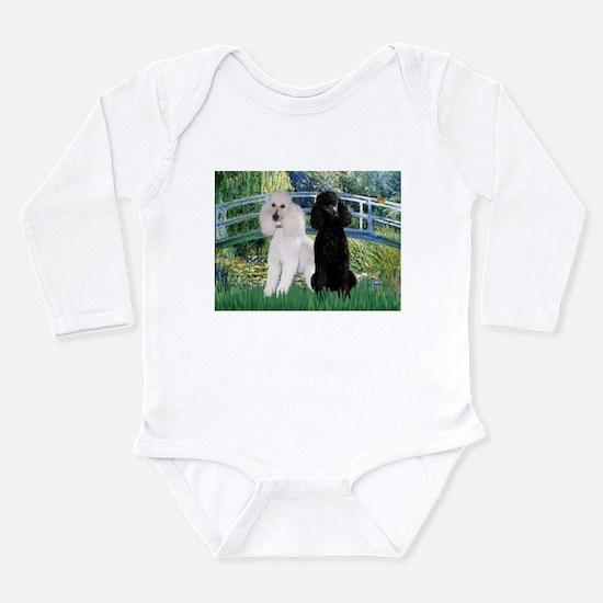 Bridge & Poodle Pair Long Sleeve Infant Bodysuit