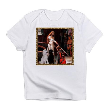 Accolade & Poodle Pair (ST1) Infant T-Shirt