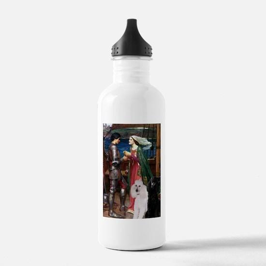 Tristan Poodle Pair (St) Water Bottle