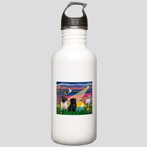 Pug Magical Night Stainless Water Bottle 1.0L