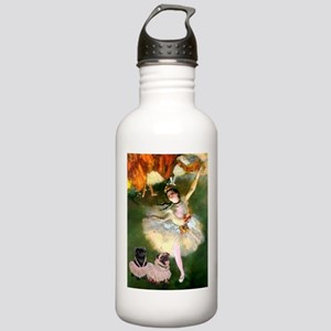 The Star / Two Pugs Stainless Water Bottle 1.0L