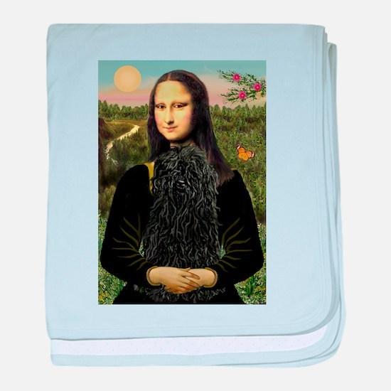 Mona Lisa (new) & Puli baby blanket