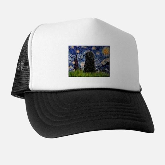 Cute Van gogh starry night Trucker Hat